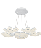 Eurofase 29094-011 Glendale Chandeliers WHITE 30-light - $3,082.00