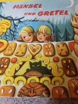 Vintage Pop Up Book 1961 Hansel and Gretel Westminster Books/Bancroft & Co. image 2