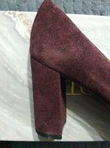 Franco Sarto Mujer Nuevo Piel Borgoña / ante Superior Vestido Zapatos Talla: 6M image 6