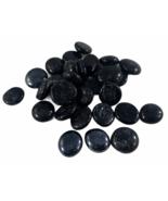 Black Glass Gem Stone Vase Filler 6 Pounds Total - $15.79