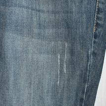 Guess Jeans Women's Daredevil Boot Cut Blue Denim Stretch Size 34 image 3