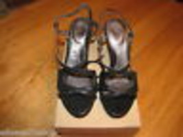 You By Crocs Babasita Noir 10.5 Chaussure Lanière Cuir Femmes Femmes Neu... - $13.35