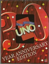 UNO 30 Year Anniversary Edition in Anniversary Storage Case NEW FREE SHI... - $52.46