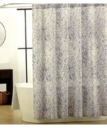 Tahari Nedie Gray with Silver Highlights Shower Curtain - $36.00
