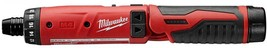 Milwaukee Electric Screwdriver Kit 1/4 in. Hex 4-Volt Lithium-Ion Cordless - $145.95