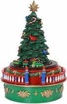 Mr. Christmas Animated Musical Tree Mini Carnival Christmas Tree Ornament Opn Bx - $34.99