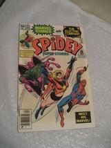 SPIDEY SUPER STORIES #22 vf condition, marvel comic 1977 - $7.50