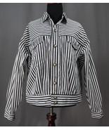 Vintage 80's/90's SKD Sportswear Striped Jacket Punk, Goth, Steampunk, N... - $39.95