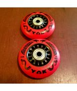 4x 76mm OUTDOOR Inline Skate Wheels with Bearings-rollerblade hockey agg... - $39.99