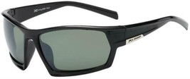 Frame Mens Smoke Lens Wrap Around Large Sport Cycling Baseball Sunglasses Black - $12.99