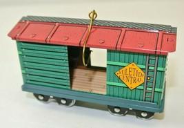 1997 Toy Car Yuletide Central #4 Hallmark Keepsake Ornament QX5812 - $3.74