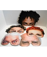 Five People Half Masks from Paladone Products Masks for Halloween - $9.00