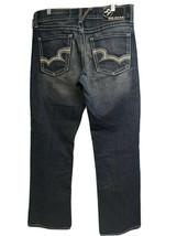 Big Star Pioneer Regular Embroidered Bootcut Distressed Blue Denim Jeans... - $49.49
