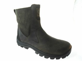 TIMBERLAND CHILBERG MEN'S 10 MED BROWN WATERPROOF SIDE-ZIP MID BOOTS # T... - $147.51