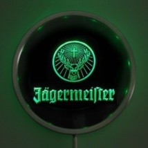 Neon  Round Sign LED Jagermeifter Red,Green, Blue   - $44.99