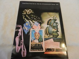 1978 USPS Mint Set of Commemorative Stamps Book Only no stamps - $19.80