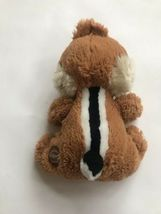 "Disney Store Chip Rescue Rangers Chip & Dale Plush Chipmunk 7"" Stuffed Animal image 3"