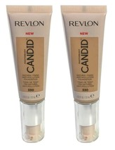 Lot of 2, Revlon PhotoReady Candid Anti-Pollution Foundation 330 Light H... - $11.98