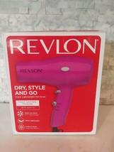 Revlon Fast Drying Hair Dryer 1875 Watt Pink - $18.81