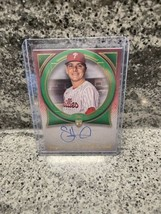 2021 Topps Definitive Green SPENCER HOWARD #/25 On-Card RC Auto Phillies - $71.89