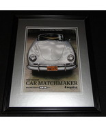 Car Matchmaker 2015 Framed 11x14 ORIGINAL Advertisement Esquire - $34.64