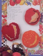 Summer Fruit Fridgies Magnets Annie's Plastic Canvas Pattern Leaflet NEW - $1.77