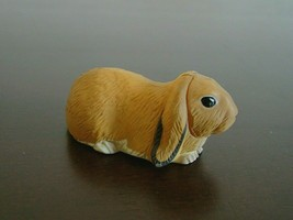 New Kaiyodo Furuta Japan Choco Egg Animal Miniature Brown Holland Lop Ea... - $9.85