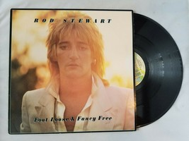 Rod Stewart Foot Loose & Fancy Free Vinyl Record Vintage 1977 WEA Warner... - $35.41