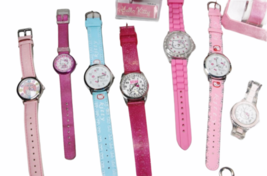 Large Sanrio Hello Kitty Assorted Jewelry Accessories Lot Watch Necklace Bank image 5
