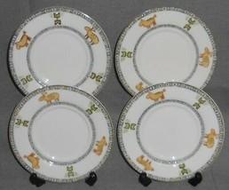 Set (4) Epoch SOUTHWESTERN/INDIAN PATTERN Saucers - $19.79