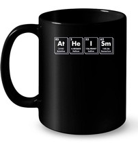 Atheism Periodic Table of Elements Pro Science Ceramic Mug - $13.99+