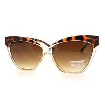 Womens Fashion Cat Eye Sunglasses Oversized Bold Stylish Shades - £7.79 GBP