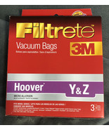 New Hoover Y and Z Micro Allergen Vacuum Bag by Filtrete (3 Bags) - $4.94