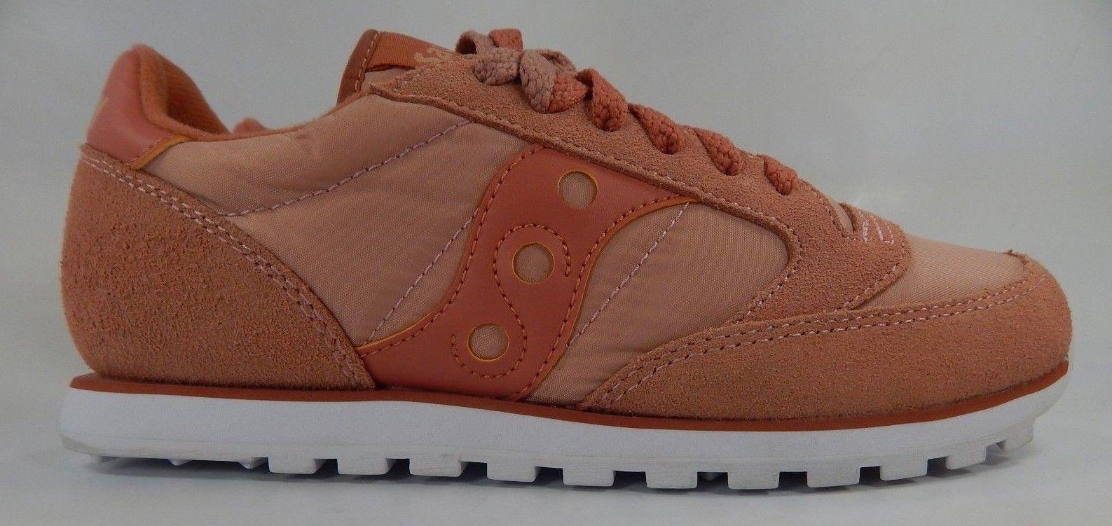 Saucony Original Jazz Low Pro Women's Shoes Size 7 M (B) EU 38 Pink S1866-244