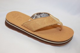 Women's Timberland Wheat Flip Flops - $48.00