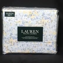 Ralph Lauren 100% Cotton Multi-color Spring Watercolor Floral Queen Shee... - $87.07