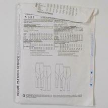 Todays Fit Vogue Pants Pattern V1411 Sandra Betzina Size OSZ Uncut image 7