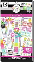 MAMBI The Happy Planner Sticker Book, Contains 591 Stickers