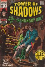 Tower of Shadows #2 VG/FN 1969 Marvel Comics Horror Don Heck Roy Thomas Stan Lee - $4.94