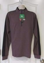 Hawke & Co. Pro Series 1/4 Zip  Pullover Men's Wine HTHR Men's Sz. XL-XX... - $25.76
