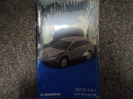 2012 Honda CR-V Crv EX-L Navigation Technical Reference Guide Manual Oem New X - $79.20