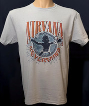 Nirvana Nevermind T Shirt Kurt Cobain Grey Music Graphic Tee  - $19.95