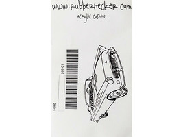 Rubbernecker Stamps T-Bird Rubber Cling Stamp #268-01