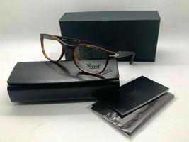 Persol Po 3085V 9001 Havana Eyeglasses Frame 51-19-140MM Nib Italy - $106.67