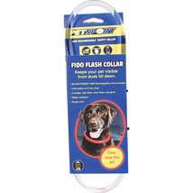 Petsport Red Fido Flash Usb Rechargeable Led Safety Collar One Size 7130... - $25.64