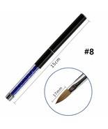 UV Poly Gel Nail Kolinsky Brush Poly Gel Brush Tool For Acrylic UV High ... - $6.69