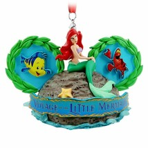 Disney World Voyage of the Little Mermaid Ear Hat Ornament, NEW - $35.00