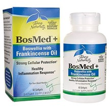 Terry Naturally BosMed + Boswellia with Frankincense Oil - 60 Softgels