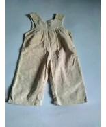 Vintage Baby Overalls Kmart GIRLS Corduroy 12 Months  - $9.99