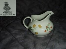 Royal Doulton Springtime Cream Pitcher ( Creamer ) - $11.98